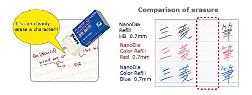 Uni NanoDia Color Mechanical Pencil Leads, 0.5mm, 7 Colors, Total 140 Leads, Sticky Notes Value Set by Stationery JP (Image #2)