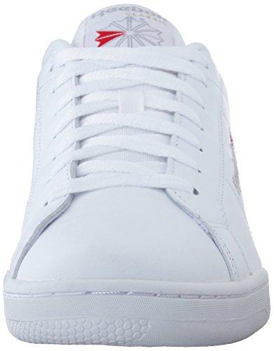 Reebok Npc Ii, Zapatillas de Tenis para Hombre Blanco (White / Lt Grey)