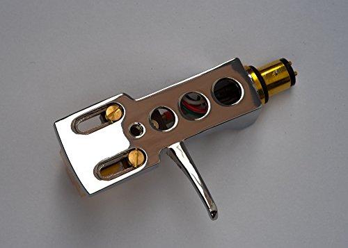 Espejo de chapado en cromo headshell, cartucho, aguja para Sony cn234, cn251, psj10, psj20, psx3, psx4, psx5, psx6, psx7,...
