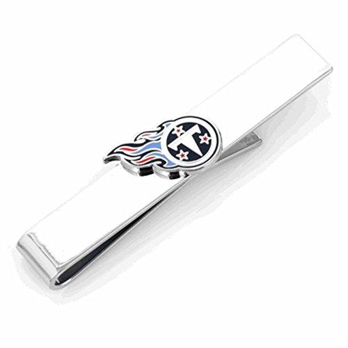 Tennessee Titans Silver Metal (Cufflinks Inc Metal Mens Tie Bar Tennessee Titans Tie Bar Silver)