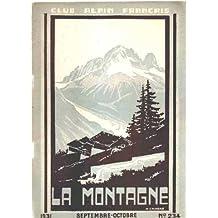 Club alpin français -la montagne n° 234