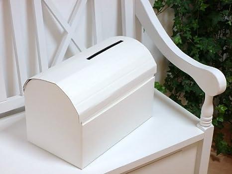 Caja Para Sobres De Boda O Comunión Diseño De Cofre Amazones Hogar