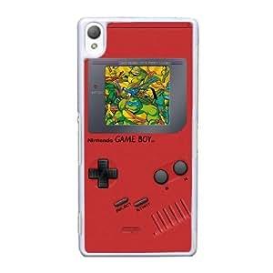 Sony Xperia Z3 Cell Phone Case White Game boy TMNT Teenage Mutant Ninja Turtles ST1YL6732658