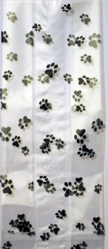 Paws Cello (K9Cakery Paw Print Cello Treat Bags 25)
