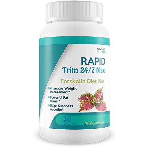 Rapid Trim 24/7 Max - Forskolin Diet Plus - Forskolin Natural Diet Pills - Maximum Strength Forskolin - Make Your keto180 forskolin Turmeric Diet Transformation Now - A True Dieter eats forskolin