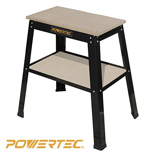 POWERTEC UT1002 Universal Tool Stand with Split MDF Top