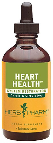 Herb Pharm Heart Health Herbal Formula with Hawthorn for Cardiovascular System Support - 4 Ounce Heart Tonic