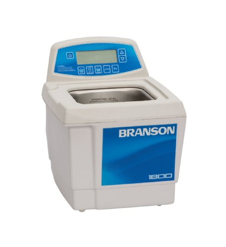 Branson CPX-952-138R Series CPXH Digital Cleaning Bath with Digital Timer and Heater, 0.5 Gallons Capacity, 230/240 by Branson Ultrasonics
