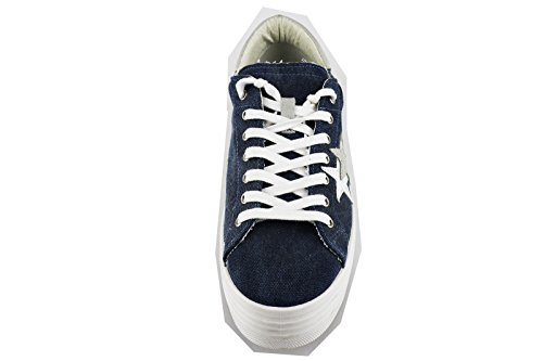 Beige Eu Donna Sneakers Ag260 Star Tela 41 Blu 2 wHIOa0xqTn