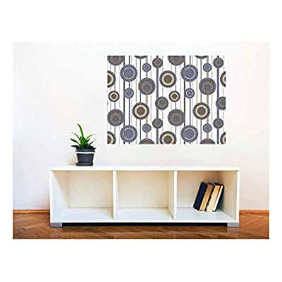 Removable Wall Sticker Wall Mural Seamless Floral Pattern...36
