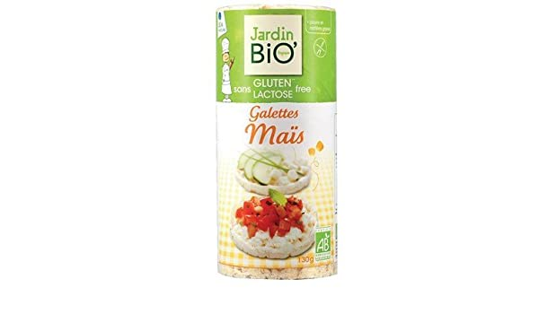 Tortitas de Maíz Ecológicas Sin Gluten JardinBio (130g ...