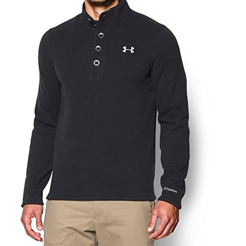 - Under Armour Men's Specialist STORM Sweater, Black (001)/Steel, Medium