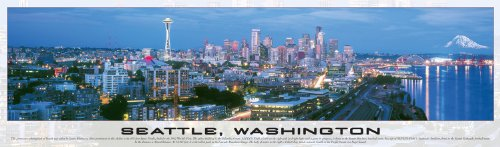 Buffalo Games Seattle - Panoramic Puzzle