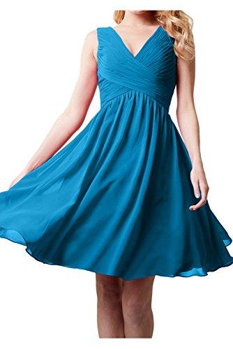 Topkleider - Vestido - trapecio - para mujer azul oscuro 40
