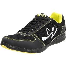 Zumba Women's Z-Kickz Dance Shoe,Black/Black,5 W US