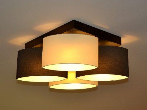Deckenlampe deckenleuchte lampe leuchte 4 flammig top design roma ro