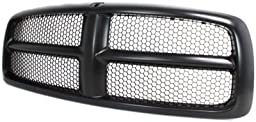 Evan-Fischer EVA17772021827 Grille Assembly Grill Plastic shell and insert Black