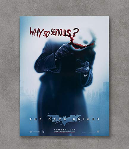 (Kai'Sa Batman The Joker Why So Serious Poster Art Print Posters,18''×24'' Unframed Poster Print)