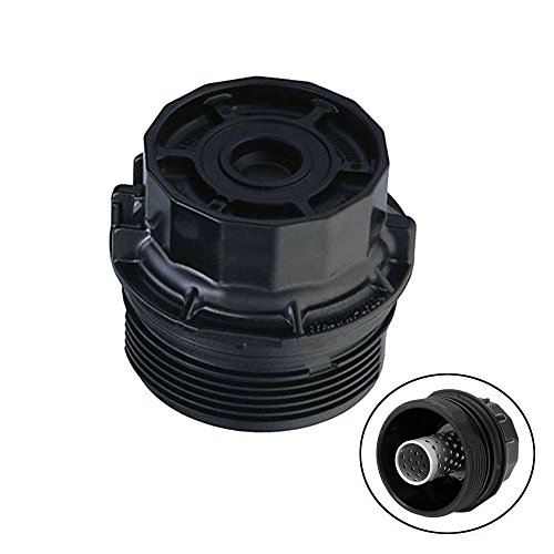 Thor-Ind Car Oil Filter Cap Assembly 15620-37010 For Toyota Corolla Prius/Prius V Matrix Lexus CT200h Scion iM XD (Oil Filter Housing Cap Replacement 19185631, 917-039, 1.8L Engines) (Best Oil For Prius)