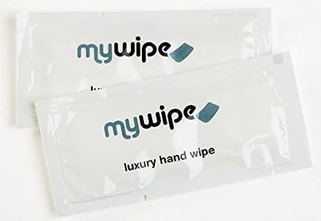 MYWIPE Lujo Gran ventilar refrescante limón húmedo Caliente o frío Mano toallitas húmedas Toallas de Catering y Restaurante x 500: Amazon.es: Hogar
