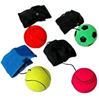 Forever Kidzz Wrist Band, Ball Game for Kids,yoyo Ball, Return Ball Gift for Kids Birthday Party Yo Yo Ball ( Pack of 1 )
