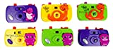 Laxmi Collection Fancy Small Size Toy Camera For Kids With Revolving Image Inside(Pack Of 6)