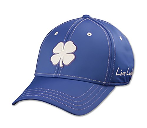 Black Clover White/Royal/Royal Premium Fitted Hat - S/M Black Royal Fitted Hats