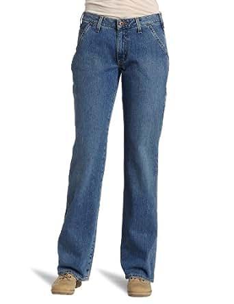Carhartt Women's Relaxed Fit Carpenter Jean,Faded Blue Indigo (Closeout),6x30
