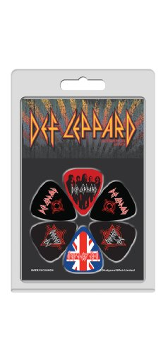 Perris Leathers LP-DEF1 Guitar Picks Def Leppard Guitar