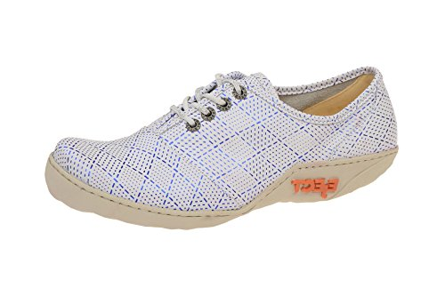 Mujer Weiß 1 con Eject17070 zapatos 003 cordones qS7YqwBX