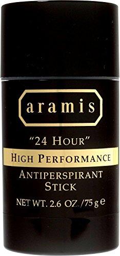 24 Hour Protection Deodorant Stick (Aramis 24 Hour High Performance Antiperspirant Stick for Men, 2.6 Ounce)