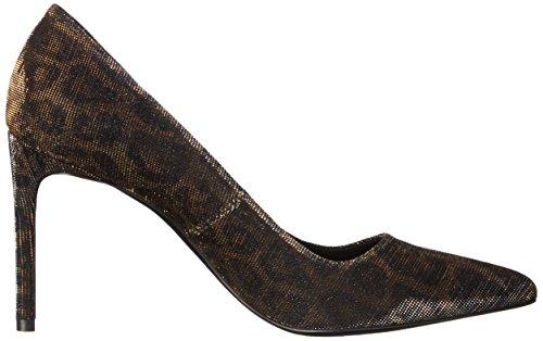 pour Phillo à imprimé Donald scintillant femmes Pliner Robe habillée léopard J bronze Wp1wxB0qZ