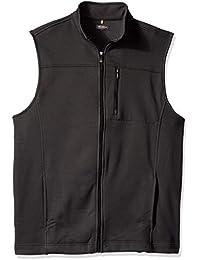 Men's Big and Tall Traveler Solid Full Zip Vest