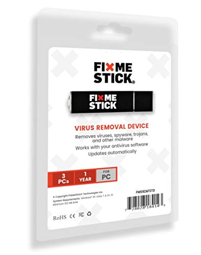 FixMeStick Virus Removal Device - McAfee Total Protection Antivirus Bundle