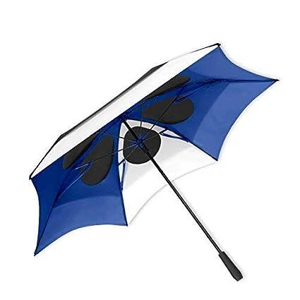 9b359384d4d5 Amazon.com : ShedRain Vortex Vent 62″ Golf Umbrella: Black/White ...