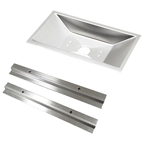 Grill Drip Tray Spirit Gas Pan and Support Rails 98056 for Weber 300 500