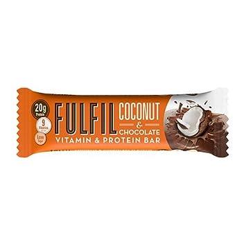 Coconut & Chocolate Proteinriegel von Fulfil Nutrition 55g: Amazon ...