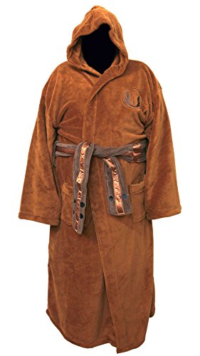 Star Wars Bathrobe (Star Wars Jedi Master Fleece Comfy Robe Bathrobe Big and)
