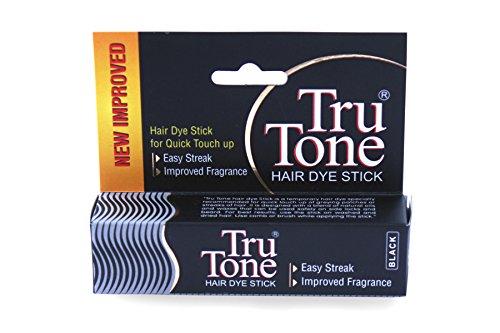 tru tone black hair dye stick