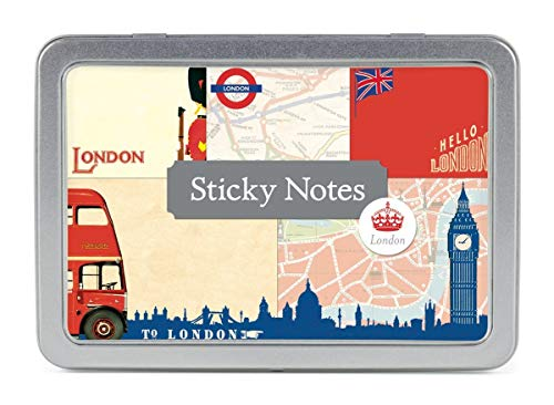 - Cavallini & Co. Vintage London Sticky Note Pad Set