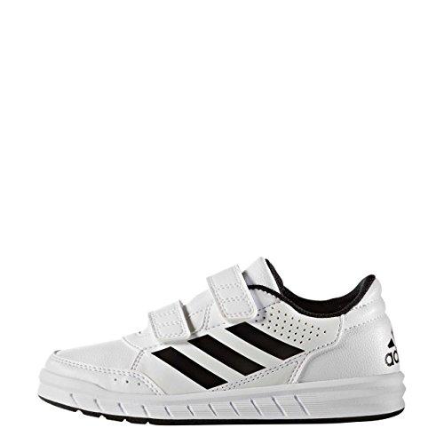 Adidas Altasport Cf K, Scarpe da Ginnastica Unisex – Bambini, Bianco (Ftwbla/Negbas/Ftwbla), 38 EU