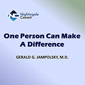 One Person Can Make a Difference Hörbuch