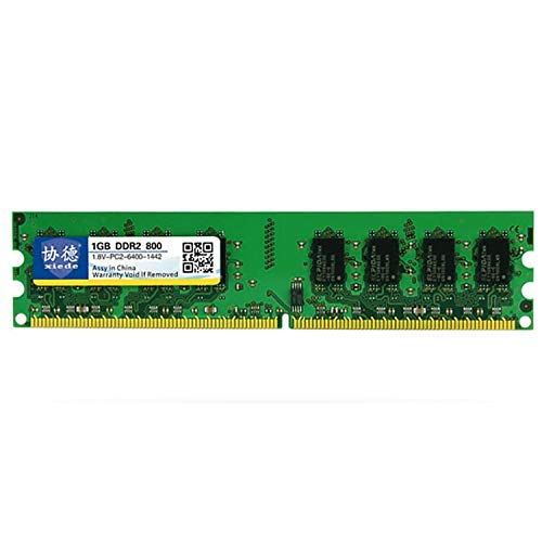 1GB Lekai Multifunctional Meet Different Needs X012 DDR2 800MHz 1GB General Full Compatibility Memory RAM Module for Desktop PC,Memory Capacity