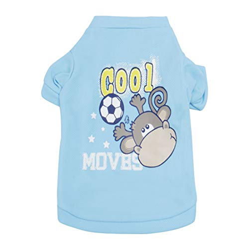 uxcell Dog T Shirts Costume Pet Sweatshirt Vest Tops Clothing Vest Puppy Spring/Summer/Fall Cool Clothes Apparel Outfits