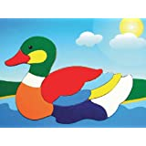 Puzzled Duck Wooden Toys Fun Puzzle (10 Piece)