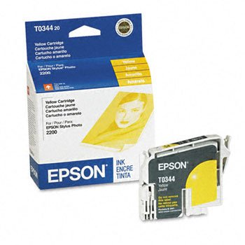 ellow Ink Cartridge (T034420 Yellow Inkjet)