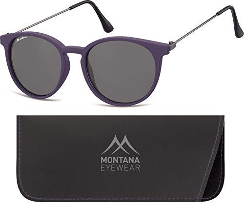 Montana, Lunettes de Soleil Mixte Multicolore - Multicoloured (Purple/Smoked Lenses)
