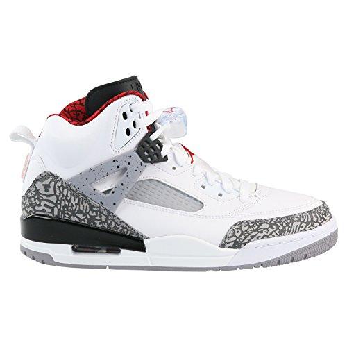 huge selection of b5f49 17132 Galleon - Jordan Spizike Mens Basketball Shoes White Grey Black Varsity Red  315371-122 (12 D(M) US)