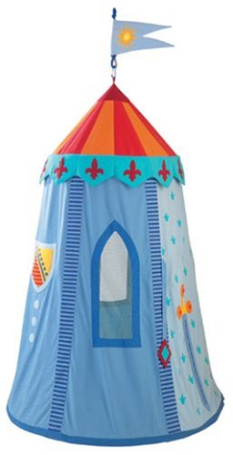 HABA Knightu0027s Hanging Tent Playhouse  sc 1 st  Amazon.com & Amazon.com: HABA Knightu0027s Hanging Tent Playhouse: Toys u0026 Games