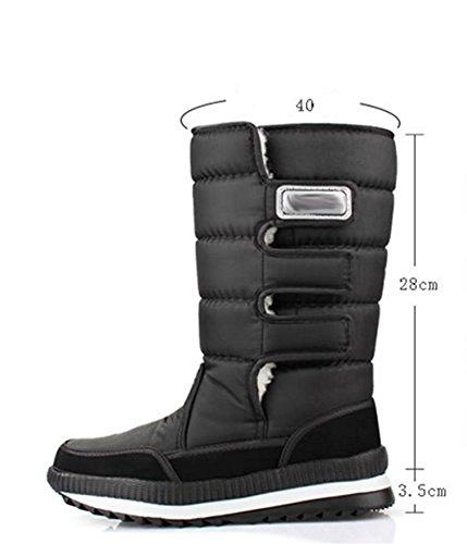 41 Uomo imbottito W Boots xyhiver cotone in Snow Outdoor doppio IPxqzx1wR